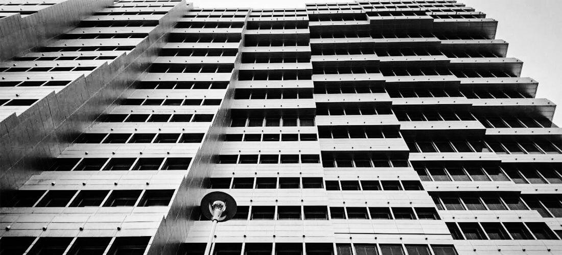 نمای ساختمان برج جام ملت تهران